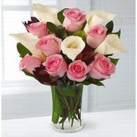 China Rose and Lily Celebration NO.101 shenzhen flower delivery wholesale