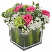 China Beautiful Roses With Vase NO.97 deliver flower to shenzhen wholesale