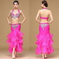 China Professional Performance Belly Dance Women Skirt Costume,Adult Belly Dance Wear wholesale