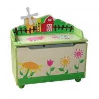 China Kids Wooden Toy Chest wholesale