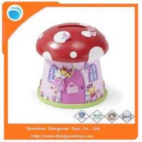 China Coin Banks Wholesale Mushroom Shape Piggy Bank Money Saving Box wholesale