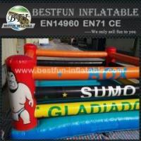 China Inflatable fighting pitch kids inflatble boxing rings for sale wholesale