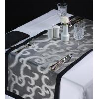 China Designer Organza Floral Runners & Placemats wholesale