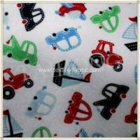 China Brushed Cotton Flannel Cloth Fabric wholesale