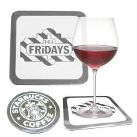 Buy cheap High quality lasting impression custom metal coaster from wholesalers