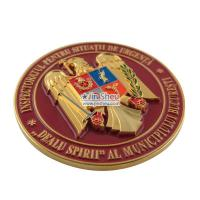 Buy cheap Custom coins' material can be zinc alloy or brass. from wholesalers