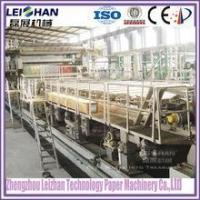 Buy cheap Single facer paper corrugation machine/ corrugated cardboard roll paper making machine from wholesalers