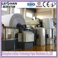 Buy cheap Recycled paper pulp type Culture paper machine / A4 paper production line machine from wholesalers