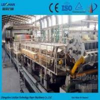 Buy cheap Absorbent Paper Making Machines/ fluting medium paper machine for paper recycling plant from wholesalers