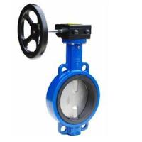 China Single eccentric butterfly valve on sale