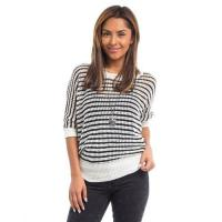 China 250231- Banded Crochet Top wholesale