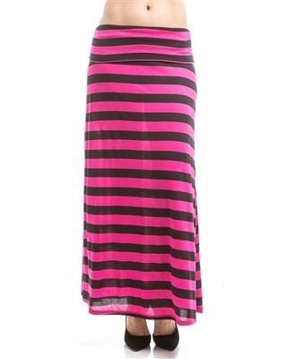 Quality 266-Stripe Maxi Skirt for sale