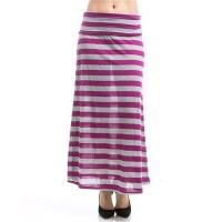 China 266-Stripe Maxi Skirt wholesale