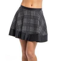 China L2260-Band Hounds-tooth Skirt wholesale