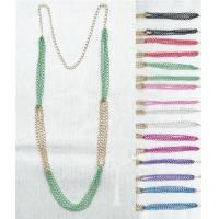 China RBN1281P-Two Tone Colored Necklace wholesale