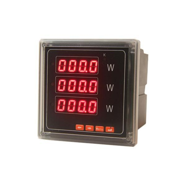 Panel Mount Frequency Counter : Sd p ak digital active power meter panel mount of