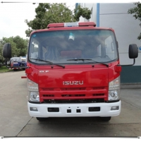 China isuzu water tanker fire fighting truck on sale