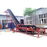 China Belt Conveyor With High Inclination Angle And Waved Guard Side wholesale