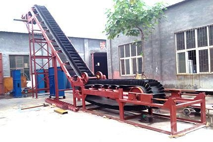 China Belt Conveyor With High Inclination Angle And Waved Guard Side
