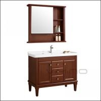 Buy cheap Vimino Solid Wood Bathroom Cabinet from wholesalers