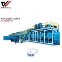 Buy cheap Semi Servo I Shape Adult Diaper Production Line from wholesalers