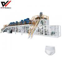 Buy cheap Full Servo Pull Up Adult Diaper Production Line from wholesalers