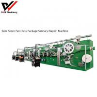 Buy cheap Semi Servo Fast-easy Package Sanitary Napkin Production Line from wholesalers