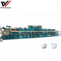 Buy cheap Full Servo Pull Up Baby Diaper Making Machine from wholesalers