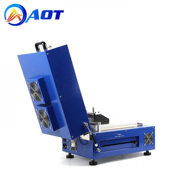 China Compact Vacuum Film Coating Machine with Dryer for Battery Electrode