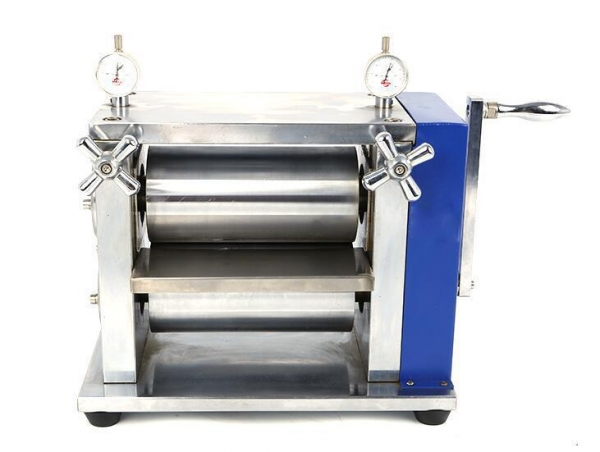 China Manual Lab Roller Press Calendering Machine for Lithium ion Battery Electrode