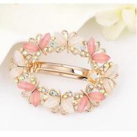 China 2018 Fashion Spring Butterfly Hairpins Cute Girl Hair Pin on sale