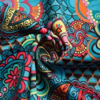 Buy cheap Digital Print Polyester Spandex Sportswear Fabric from wholesalers