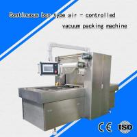 Quality Continuous box type air - controlled vacuum packing machine for sale