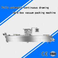 Quality Fully automatic continuous drawing hard box vacuum packing machine for sale
