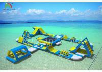 Buy cheap Giant inflatable floating water park AX-01-031 from wholesalers