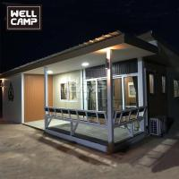 China Wellcamp fast install prefabricated detachable container villa holiday customized container wholesale