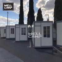 Quality Folding container house in prefab houses folding box for security room pull-down container for sale