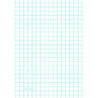 China Printable Graph Paper with two lines per inch on A4-sized paper on sale