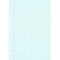 China Printable Graph Paper with four lines per inch on A4-sized paper on sale