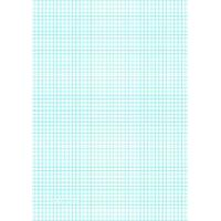 China Printable Graph Paper with five lines per inch on A4-sized paper on sale