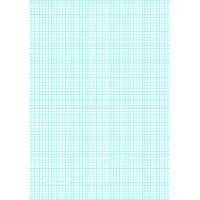 China Printable Graph Paper with six lines per inch on A4-sized paper on sale