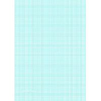 China Printable Graph Paper with eight lines per inch on A4-sized paper on sale