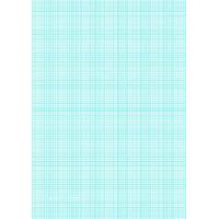 China Printable Graph Paper with nine lines per inch on A4-sized paper on sale