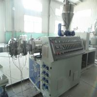 China PE Double Wall Corrugated Pipe Production Line wholesale