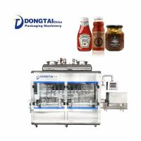 China Automatic Ketchup Sauce Filling Machine on sale