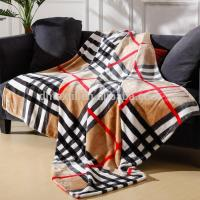 China 2 Ply New Fashion 100% Polyester Dot Printed Minky Blanket on sale