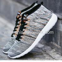 Buy cheap Popular Charcoal Mid-Cut Men's Running Sports Casual Shoes Sneaker Knitting Shoes Admin Edit from wholesalers