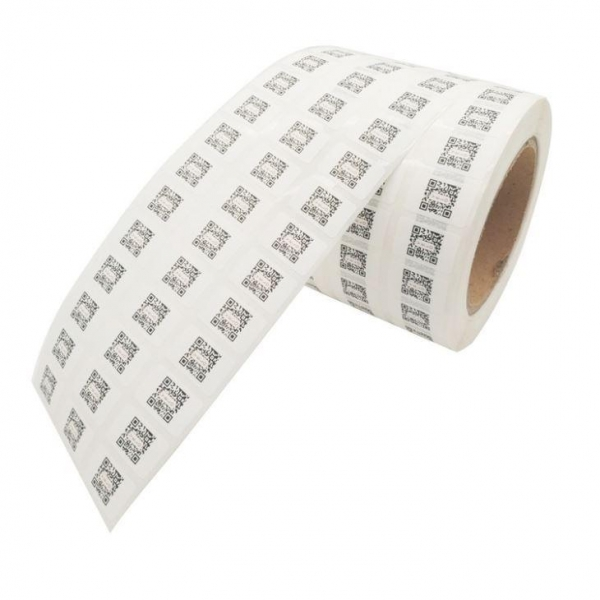 Quality Unique Stickers Variable QR Code Adhesive Labels for sale