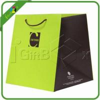 China New Design 250gsm Art Paper Gift Bags with Handles wholesale