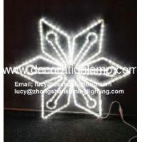 China outdoor lighted snowflakes on sale